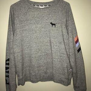 VS PINK crew sweatshirt